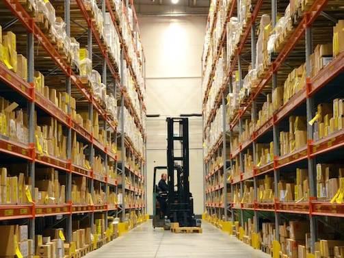 Inventaire physique des stocks logistique