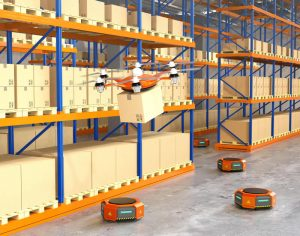 robotique entrepôt