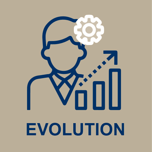 Icone évolution