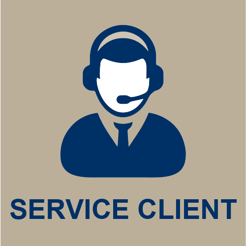Icone service client
