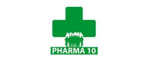 PHARMA 10 logo