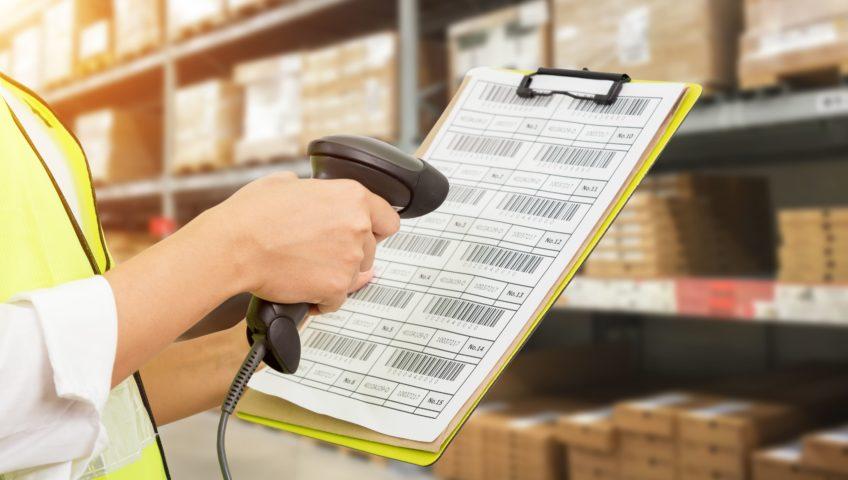 Les consommables étiquettes codes à barres en logistique