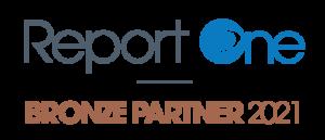 Logo Report One bronze partner 2021